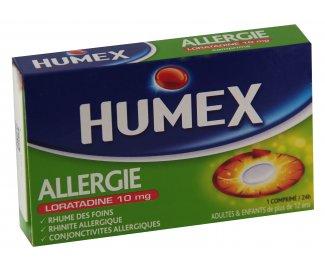HUMEX ALLERGIES LORATADINE 10mg 7 comprimés
