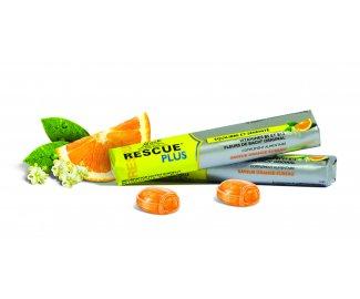 RESCUE PLUS Coeur Fondant Orange par 10 pastilles