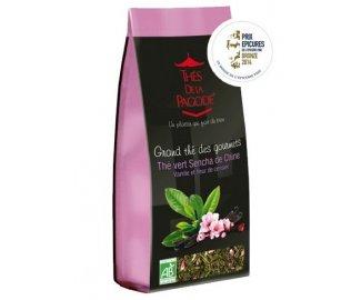 Thé Vert Sencha de Chine Vanille & Fleur de Cerisier 110g