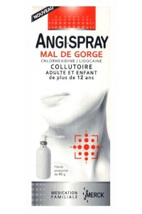 ANGISPRAY Maux de gorge (flacon dee 40 ml)