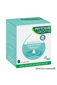 Aromadoses DIGESTION/TRANSIT - 30 CAPSULES