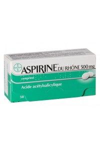 Aspirine du Rhône 500 mg (boite de 50)
