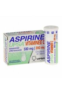 ASPIRINE VITAMINE C (2 tubes de 10 comprimés effervescents)
