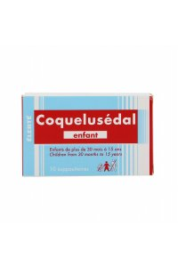 Coquelusedal Suppositoires Enfant