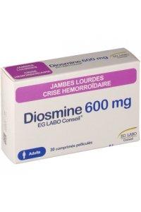 DIOSMINE 600 mg EG