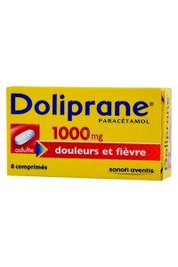 DOLIPRANE 1G (8 comprimés à avaler)