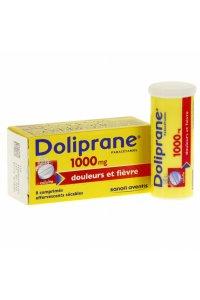 DOLIPRANE 1G (8 comprimés effervescents)