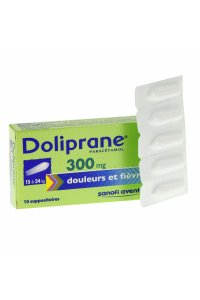 DOLIPRANE 300mg (10 suppositoires sécables)