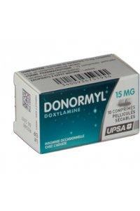 DONORMYL 15 mg (10 comprimés sécables)