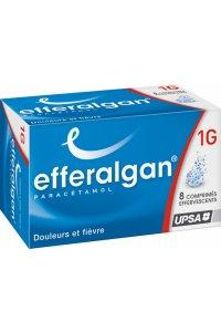 EFFERALGAN 1g (8 comprimés effervescents)
