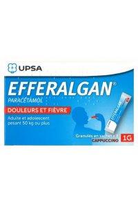 EFFERALGAN 1g (8 sachets arôme capuccino)