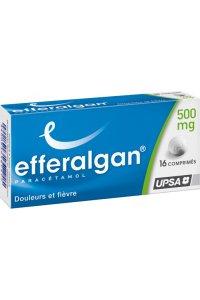 EFFERALGAN 500mg (16 comprimés)