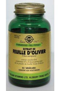 Extrait feuille d'olivier 60 gélules