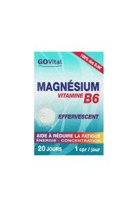 GO VITAL MAGNESIUM VITAMINE B6 30 cp effeverscents