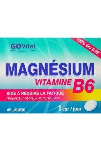 GO VITAL MAGNESIUM VITAMINE B6 45 comprimés