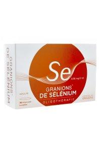 GRANIONS de Selenium 30 ampoules buvables