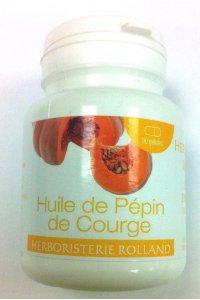 HUILE DE PEPIN DE COURGE 90 capsules