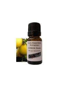 Huile essentielle BIO de Citron zeste 10 mL