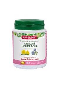 HUILES D'ONAGRE ET BOURRACHE Superdiet 200 capsules
