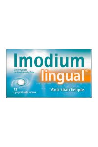 IMODIUMLINGUAL 2 mg (12 lyophilisats)