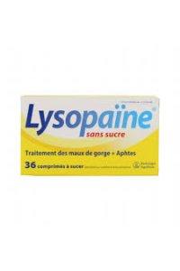 LYSOPAINE Sans sucre