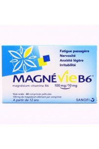 MAGNEVIE B6 100 mg / 10 mg (60 comprimés)