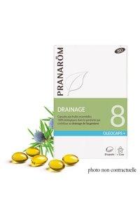 OLEOCAPS 8 - Drainage & Détoxination 30 capsules