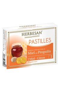 PASTILLES MIEL PROPOLIS 24 pastilles