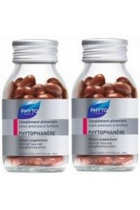 Phytophanere Complément alimentaire Action antichute et fortifiante - 2 x 120 capsules