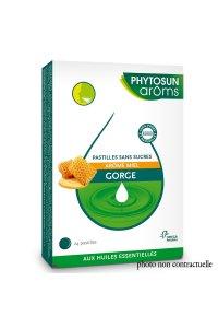 PHYTOSUN 24 pastilles SANS SUCRE MIEL mal de gorge
