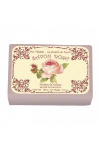 Savon parfumé à la ROSE 100g
