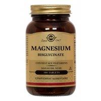 SOLGAR Magnésium bisglynate 100 comprimés