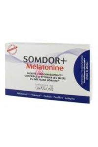 SOMDOR + MELATONINE 15 comprimés