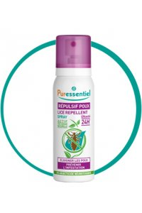 Spray repulsif anti-poux 75ml