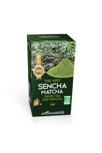 Thé vert SENCHA-MATCHA 18 infusettes