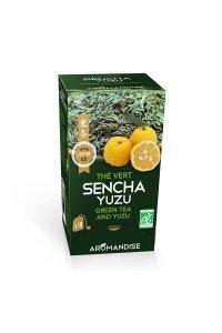 Thé vert SENCHA-YUZU 18 infusettes