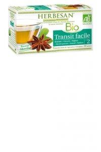 TISANE TRANSIT FACILE BIO Herbesan 20 sachets