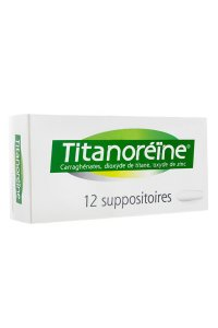 TITANOREINE (12 suppositoires)