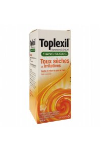 TOPLEXIL 0.33 mg/ml sirop sans sucre (flacon de 150 ml)