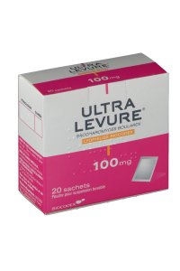 ULTRA LEVURE 100 mg 20 sachets