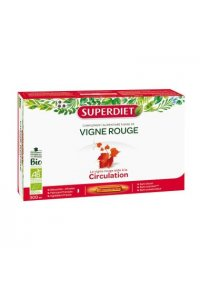 VIGNE ROUGE Superdiet 20 ampoules de 15ml