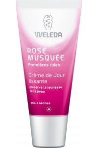 WELEDA Crème de Jour lissante à la Rose musquée bio 30 mL