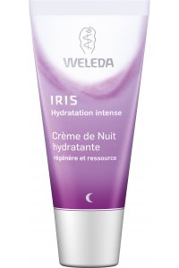 WELEDA Crème de Nuit hydratante à l'Iris bio 30 mL