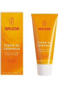 WELEDA Crème protectrice Visage Bébé au Calendula 50 mL