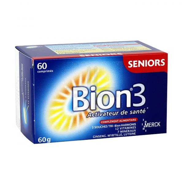 La pharmacie rolland : BION 3 SENIOR (60 comprimés)