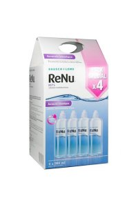 RENU MPS solution multifonction lot de 4 x 360 ml