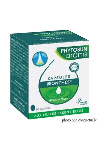 AROMADOSES BRONCHES 30 CAPSULES  PHYTOSUN
