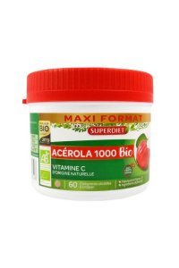 ACEROLA 1000 BIO Superdiet 60 comprimés
