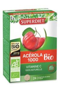 ACEROLA BIO 1000 Superdiet 24 comprimés
