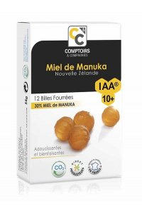 Billes Fourrées Miel de Manuka IAA10+